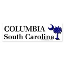 Columbia South Carolina Bumper Bumper Sticker