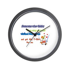 Someone dodo Wall Clock