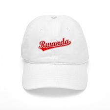 Retro Rwanda (Red) Baseball Cap