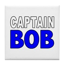 CAPTAIN BOB Tile Coaster