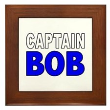 CAPTAIN BOB Framed Tile