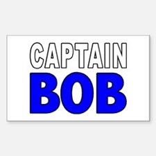 CAPTAIN BOB Rectangle Decal