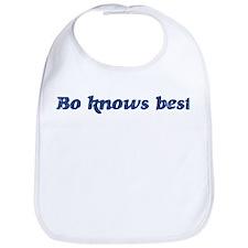 Bo knows best Bib