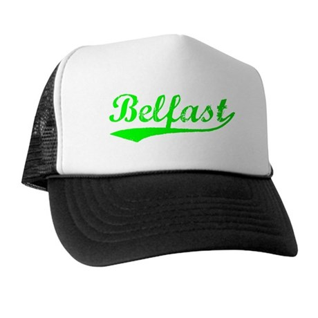 Vintage Belfast (Green) Trucker Hat