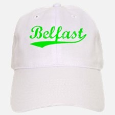 Vintage Belfast (Green) Baseball Baseball Cap