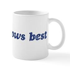 Bono knows best Mug