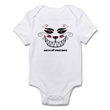 We're All Mad Here Infant Bodysuit