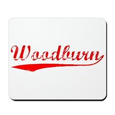Vintage Woodburn (Red) Mousepad