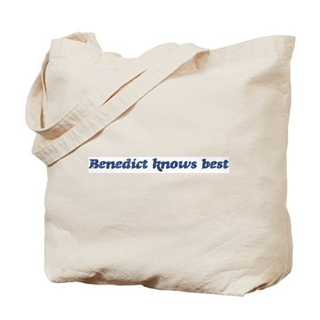 Benedict knows best Tote Bag