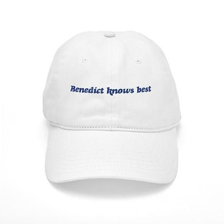 Benedict knows best Cap