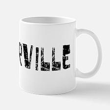 Victorville Faded (Black) Mug