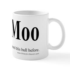 Deja Moo Mug - left hand