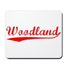 Vintage Woodland (Red) Mousepad