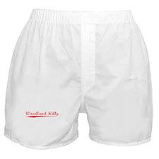 Vintage Woodland H.. (Red) Boxer Shorts
