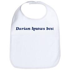 Darian knows best Bib