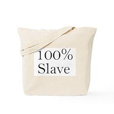 100% Slave Tote Bag