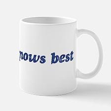 Eduardo knows best Mug