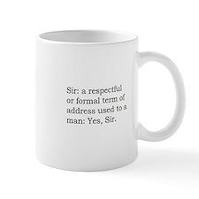 Sir's Mug