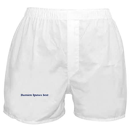 Damien knows best Boxer Shorts