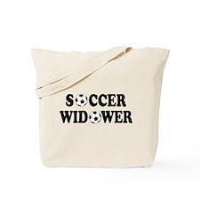 Soccer Widower Tote Bag