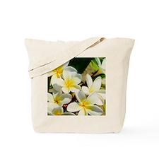 Frangipani/Plumeria Flowers Tote Bag