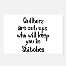 Quilters Keep You In Stitches Postcards (Package o