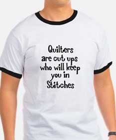 Quilters Keep You In Stitches T