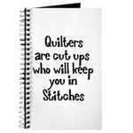 Quilters Keep You In Stitches Journal