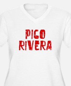 Pico Rivera Faded (Red) T-Shirt