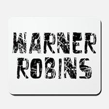 Warner Robins Faded (Black) Mousepad