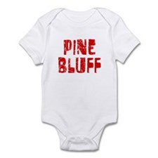 Pine Bluff Faded (Red) Infant Bodysuit