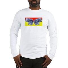 Butter (finger) Fly Eyes Long Sleeve T-Shirt