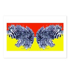 Butter (finger) Fly Eyes Postcards (Package of 8)