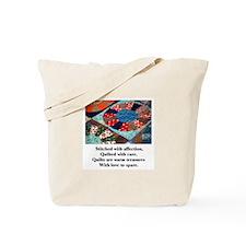 Quilts - Warm Treasures Tote Bag