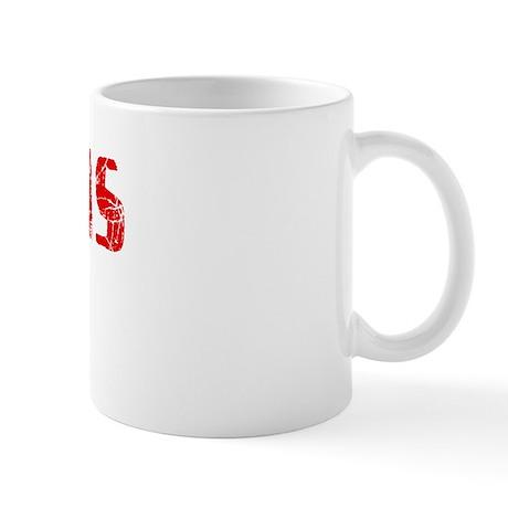 Pinellas Park Faded (Red) Mug