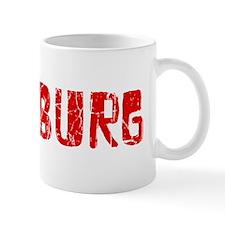 Pittsburg Faded (Red) Mug