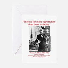 More Opportunity Greeting Cards (Pk of 10)