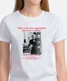 More Opportunity Tee