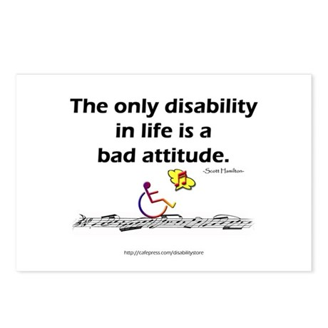 Bad Attitude Postcards (Package of 8)