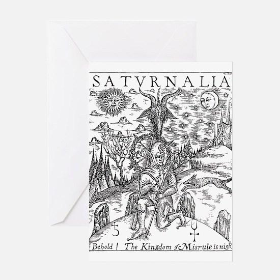 saturnalia Greeting Cards