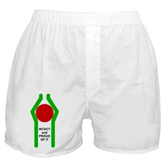 Intact and Proud Of It Boxer Shorts
