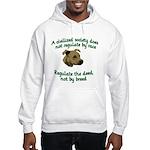 Civilized Society Against BSL Hooded Sweatshirt