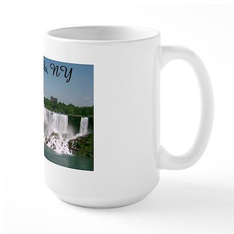 Niagara Falls NY Large Mug