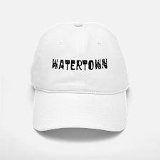 Watertown Faded (Black) Baseball Baseball Cap