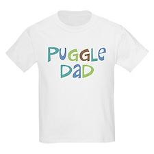 Puggle Dad (Text) T-Shirt