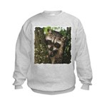 Baby Raccoon Kids Sweatshirt
