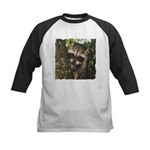 Baby Raccoon Kids Baseball Jersey