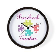 Preschool Teacher Wall Clock