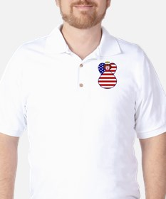 American Flag Angel T-Shirt