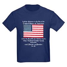 Pledge of Allegiance T